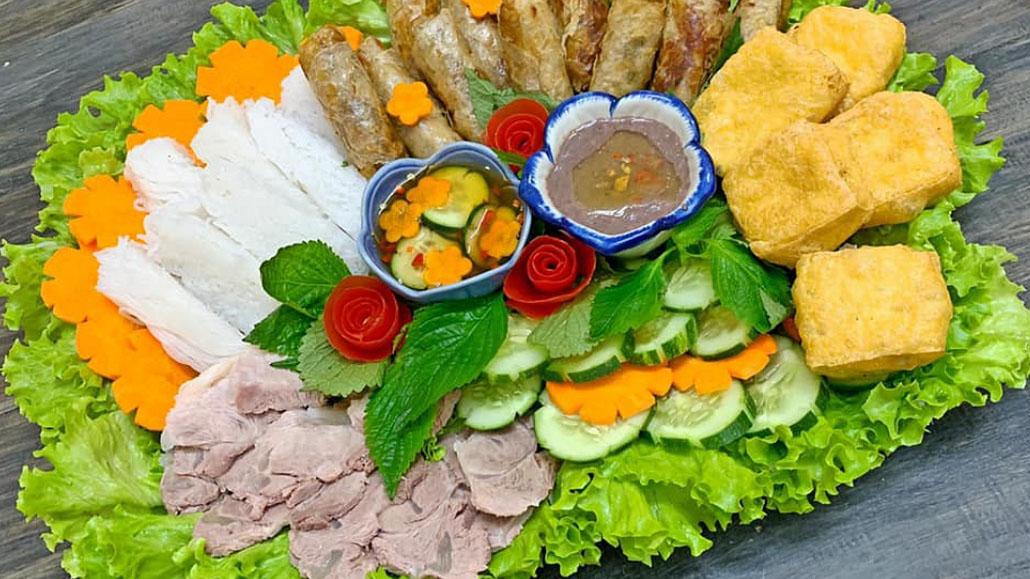 Bun dau mam tom – Special food in Vietnam
