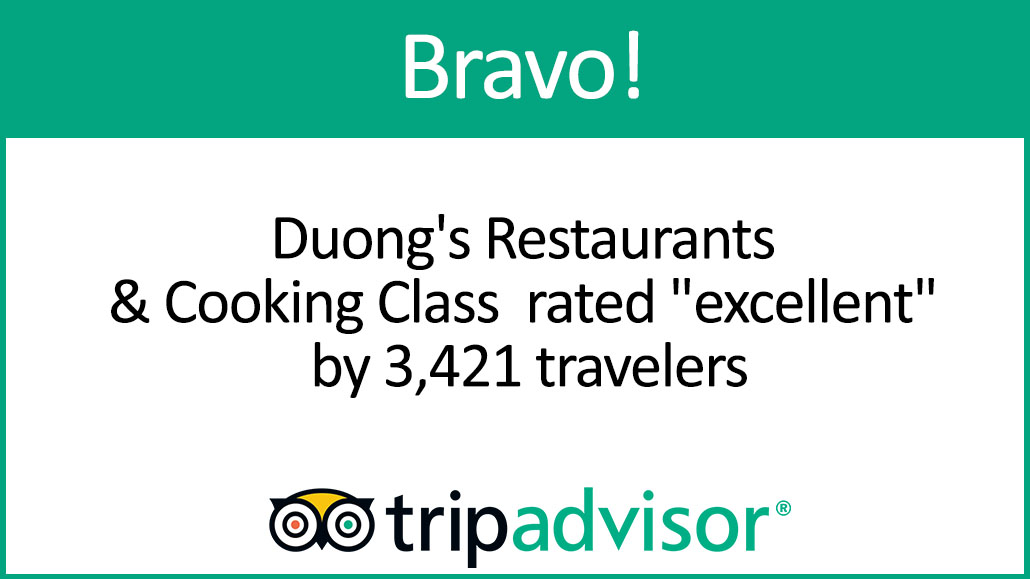 "Bravo! Duong's Restaurants rated ""excellent"" by 3,421 travelers on Tripadvisor"